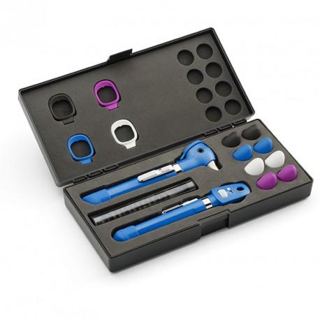 Set Oto-Oftalmoscopio Pocket Plus LED Cian (ref. 92880-BLU)