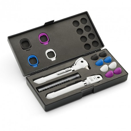 Set de Oto-Oftalmoscopio Pocket Plus LED Blanco (ref. 92880-WHT)