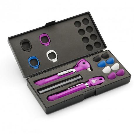 Set Oto-oftalmoscopio Pocket LED Plus Ciruela (ref. 92880-PUR)