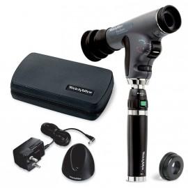 Set de Oftalmoscopio PanOptic can mango de iones de litio y con lente corneal (Ref. 11822-VSM)