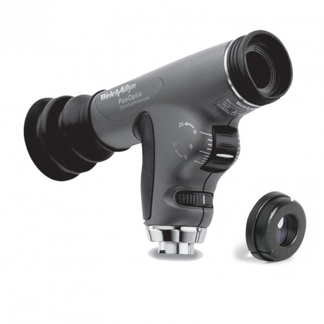 Oftalmosocopio PanOptic™ con filtro azul cobalto y lente corneal (Ref: 11820-CE)