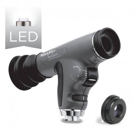 Oftalmosocopio PanOptic™ LED con filtro azul cobalto y lente corneal (Ref: 11820-L)