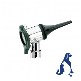 Cabezal de otoscopio neumático de 3,5V para veterinaria (ref. 20260)