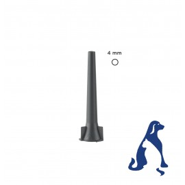 Espéculo de 4.0 mm para otoscopio MacroView™ para veterinaria (ref. 23834)