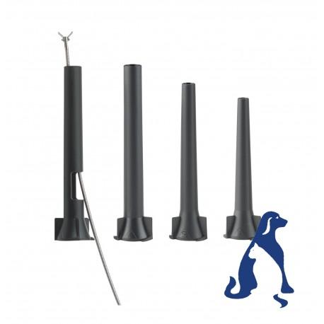 Set de espéculo reutilizables para veterinaria para otoscopio MacroView™ (ref. 23842)