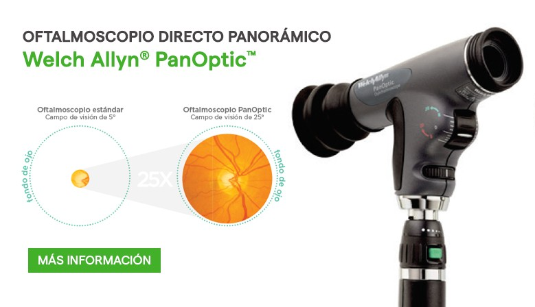 Oftalmoscopio Welch Allyn PanOptic